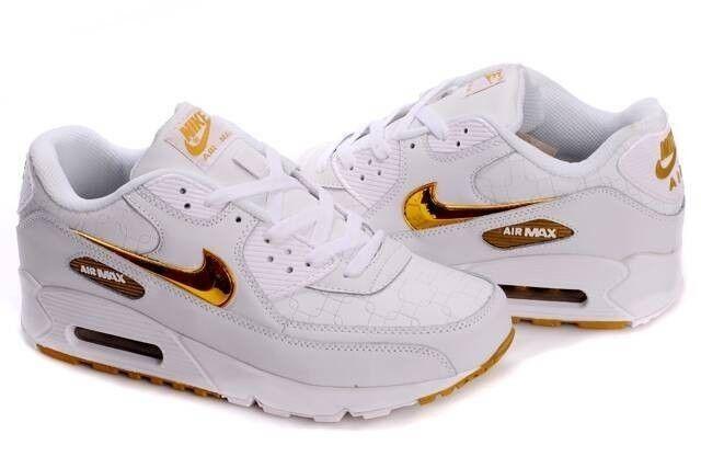 Nike Air Max 90 Damen Gold