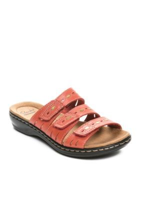 a9c226f7fb95 Clarks Coral Leisa Broach Sandal - Available in Extended Sizes