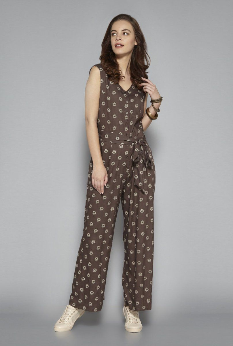 928e23a105a Westside Brown Jumpsuit in 2019