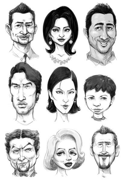 Faces Sketch - 3