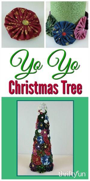 Yo Yo Christmas Tree Yo yo, Paper cones and Tree decorations