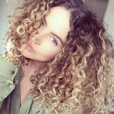 Image Result For Blonde Curly Hair Dark Roots Ombre Curly Hair