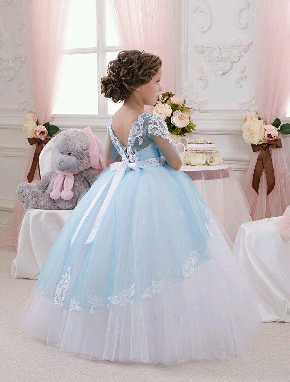 5a3389887 Vestidos para niñas estilo princesa