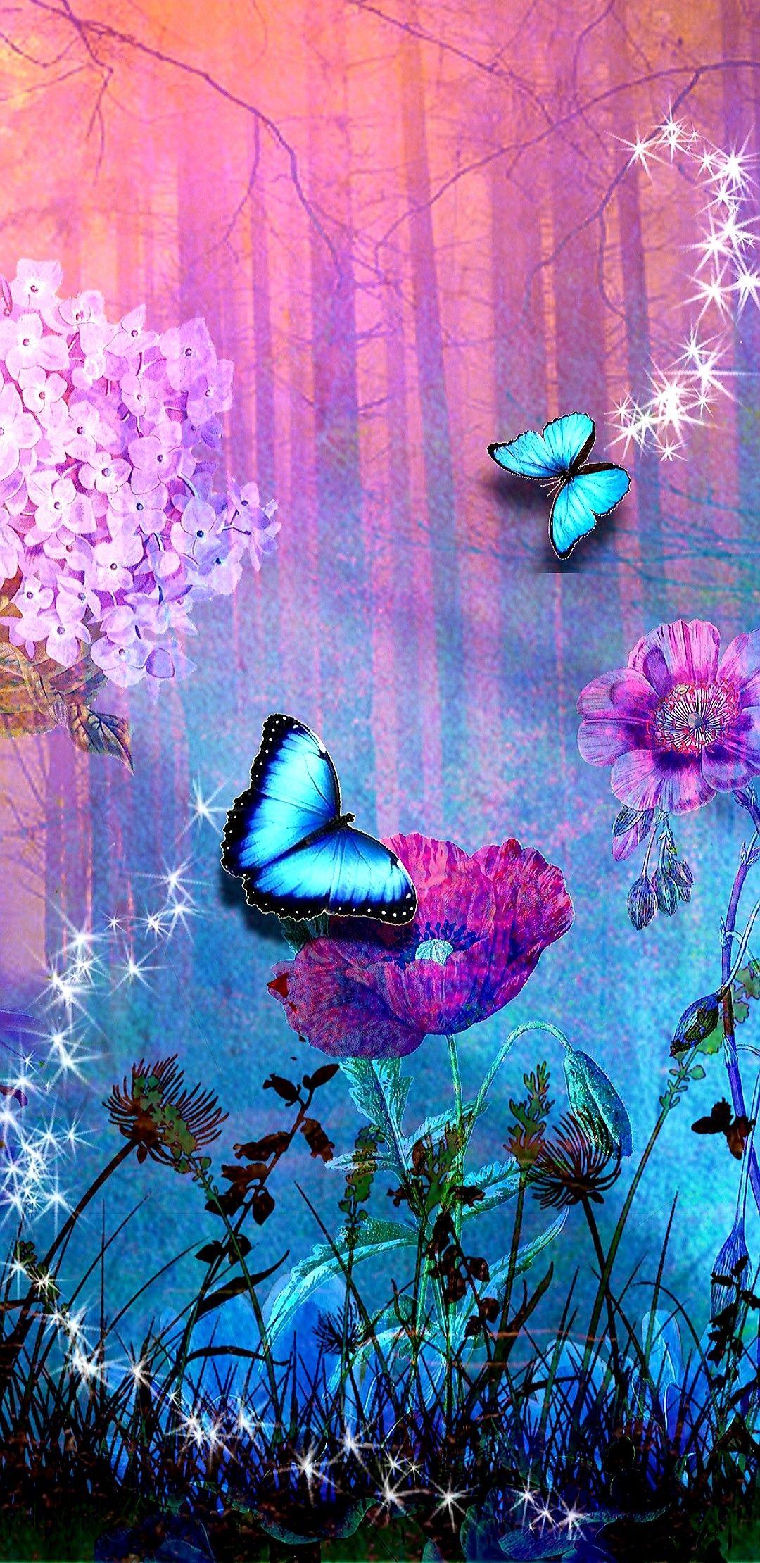 Wallpaper...By Artist Unknown...   Butterfly wallpaper ...