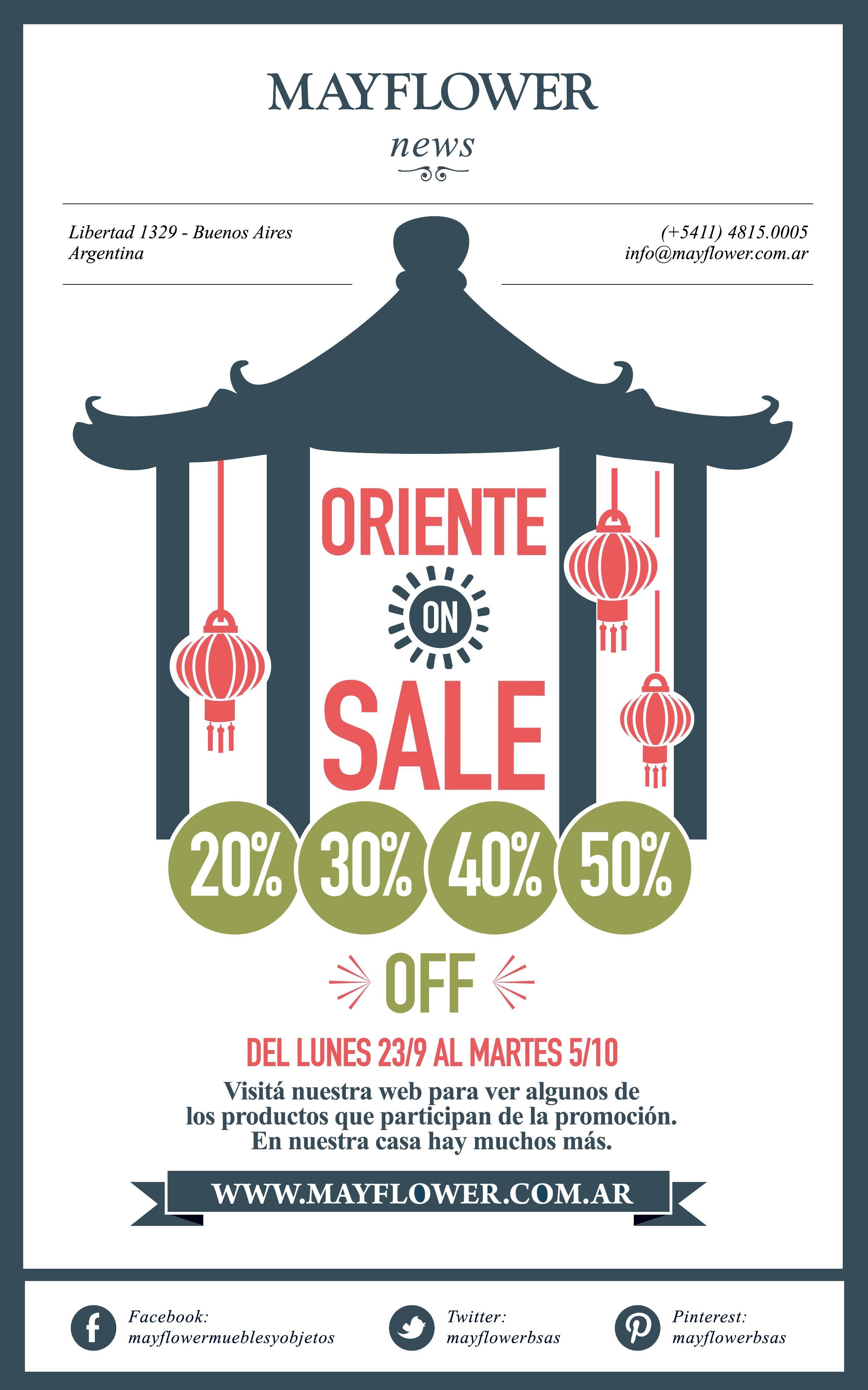 50 år vers Oriente On Sale en Mayflower: muebles, objetos, iluminación, arte  50 år vers