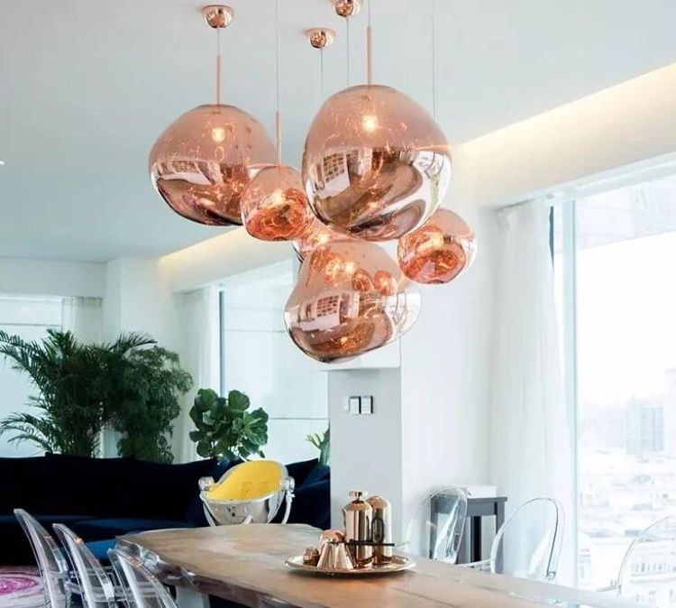 Tom Dixon Melt Mini Pendant Lamp Specification A Collaboration Between Leading British Designer Tom Dixon And Swedish Design Verlichting Interieur Hanglamp
