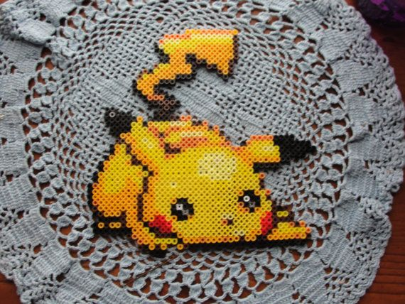 how to make pokemon out of hama beads