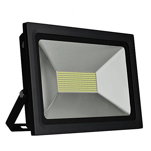 Solla 100w Led Flood Light Outdoor Security Lights 8600 Lm Daylight White 55006500k480leds Super Bright F Outdoor Flood Lights Led Flood Lights Security Lights