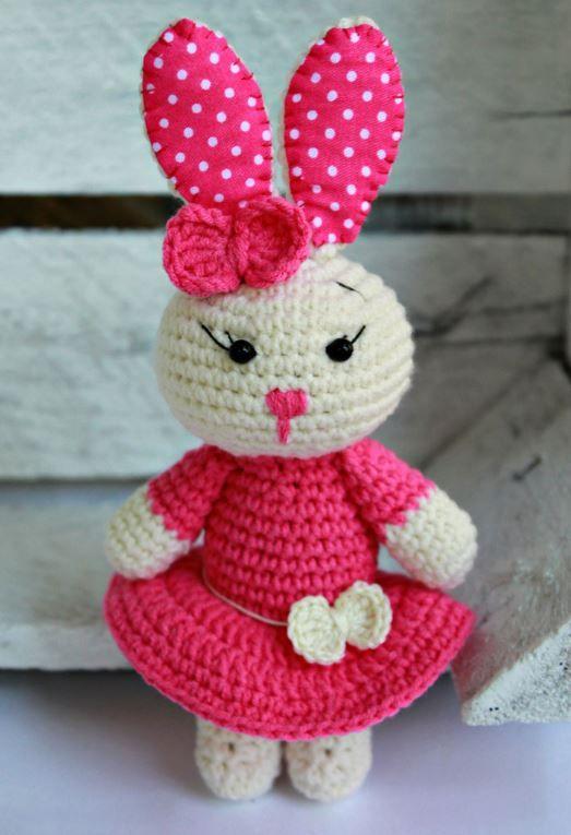 Cute Bunny Ammigurummi http://amigurumi.today/cute-bunny-amigurumi ...