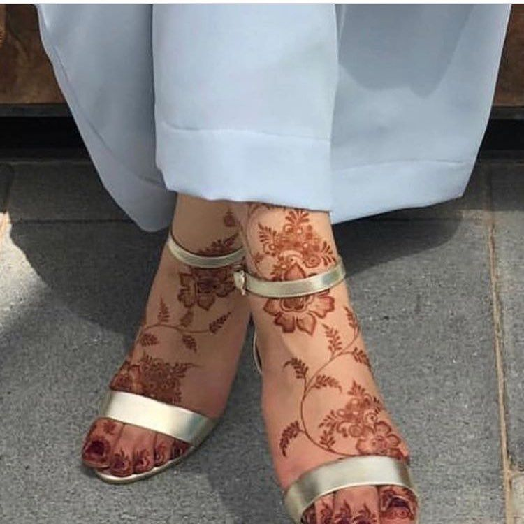 Pinterest Kubra Yousuf Legs Mehndi Design Henna Flower Designs Henna Designs