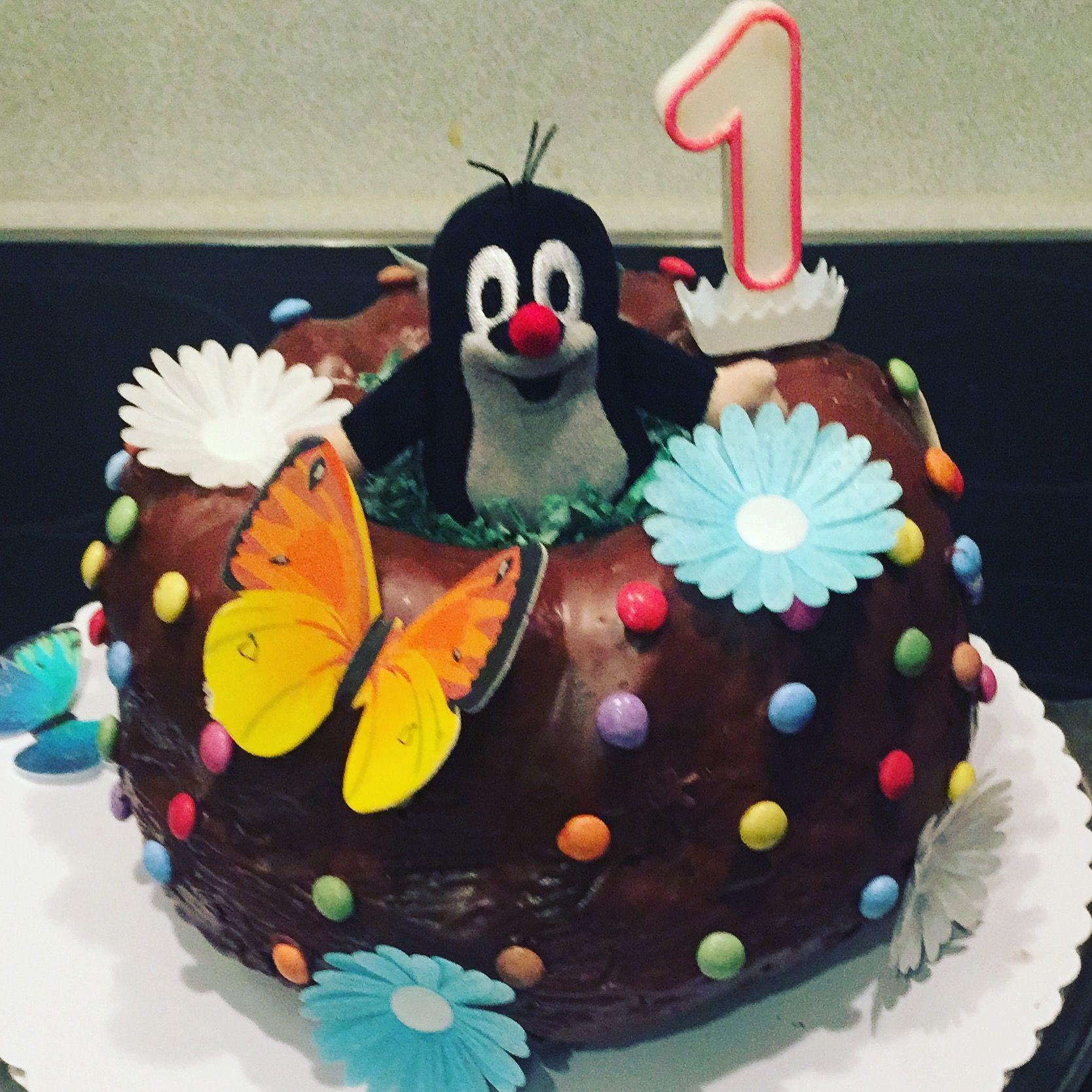 Geburtstagskuchen Der Kleine Maulwurf Kindergeburtstag Geburtstag Kuchen Torten Dekorieren