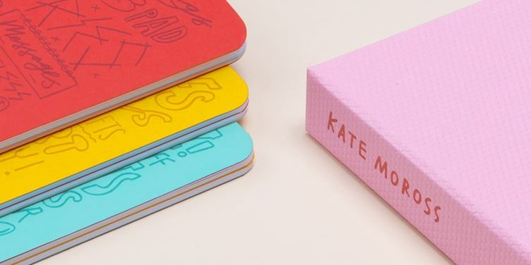 Moo x kate moross journals luxe business cards classy