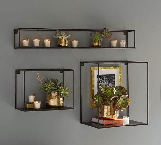 Cube Display Shelves Room Decor Decor Wall Decor