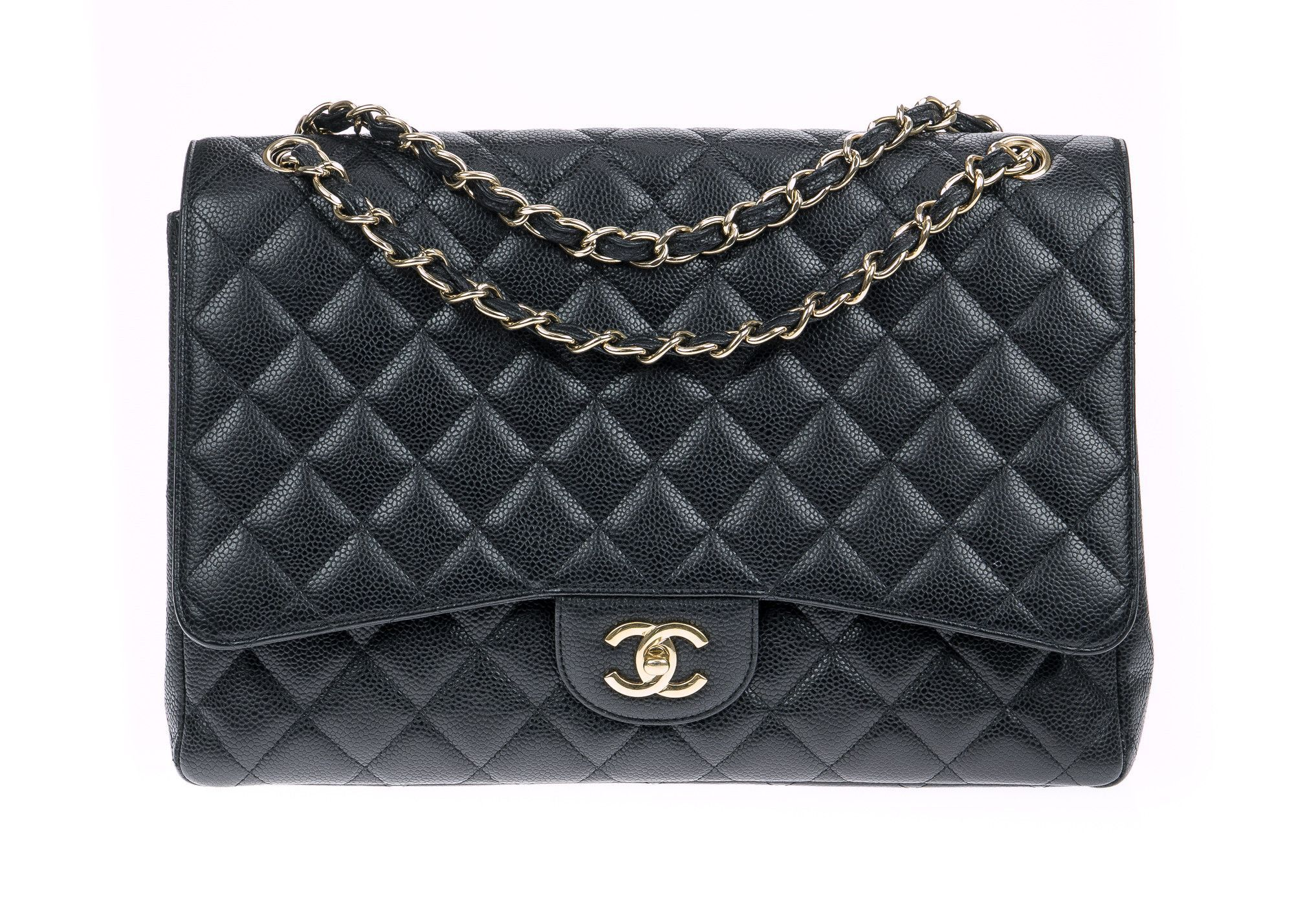 8207afe49f6b Chanel Le Boy Black Calfskin Quilted Old Medium Size Flap Bag with Ruthenium  Hardware LIMITED EDITION PAINTED LOCK