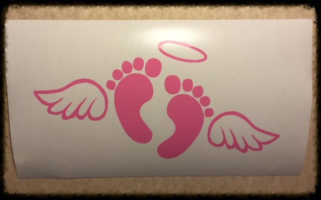 2b5c91415f4ec Plain Baby Feet with Wings (NO TEXT, JUST BABY FEET with WINGS ...