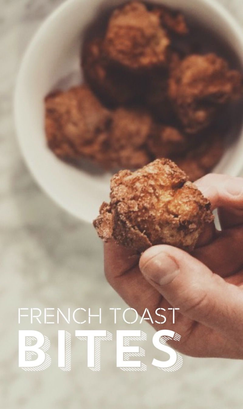 Air Fryer French Toast Bites Recipe