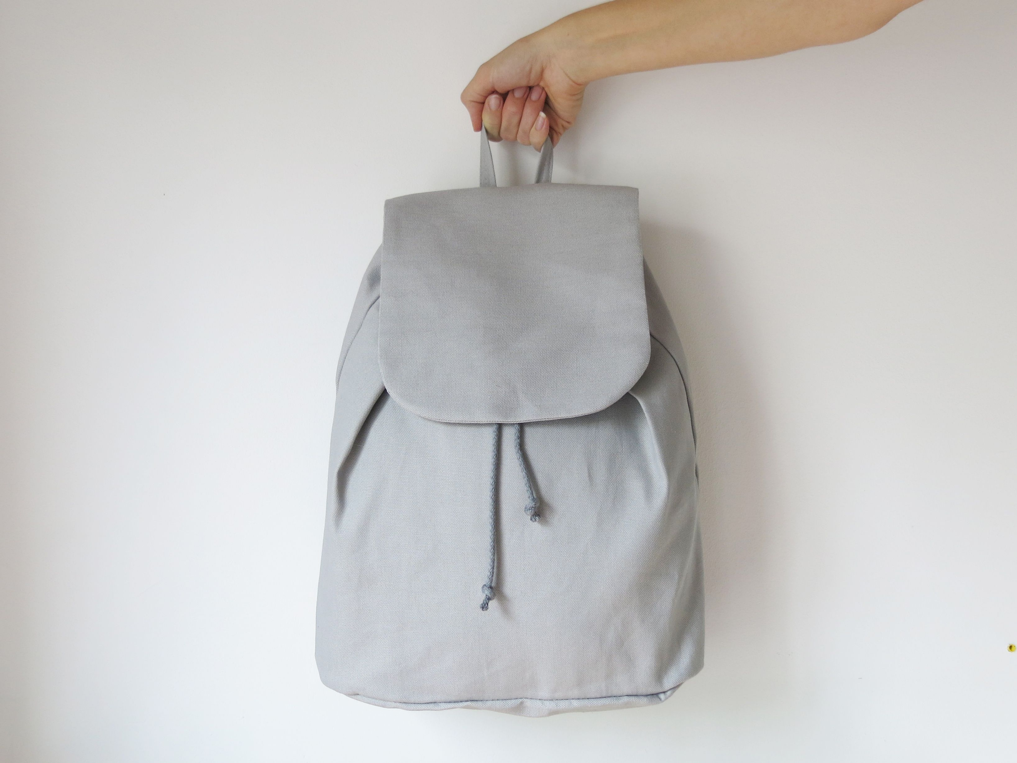 easy backpack sewing pattern | Schnittmuster | Pinterest | Nähen ...