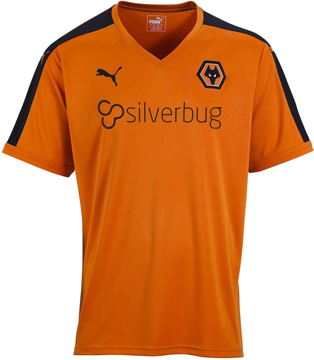 85651e34e2 Wolverhampton Wanderers FC (England) - 2015 2016 Puma Home Shirt ...