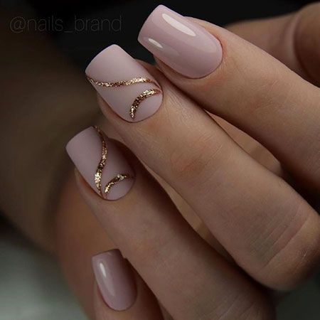 Photo of Winter 2018 Gel Nail Ideas