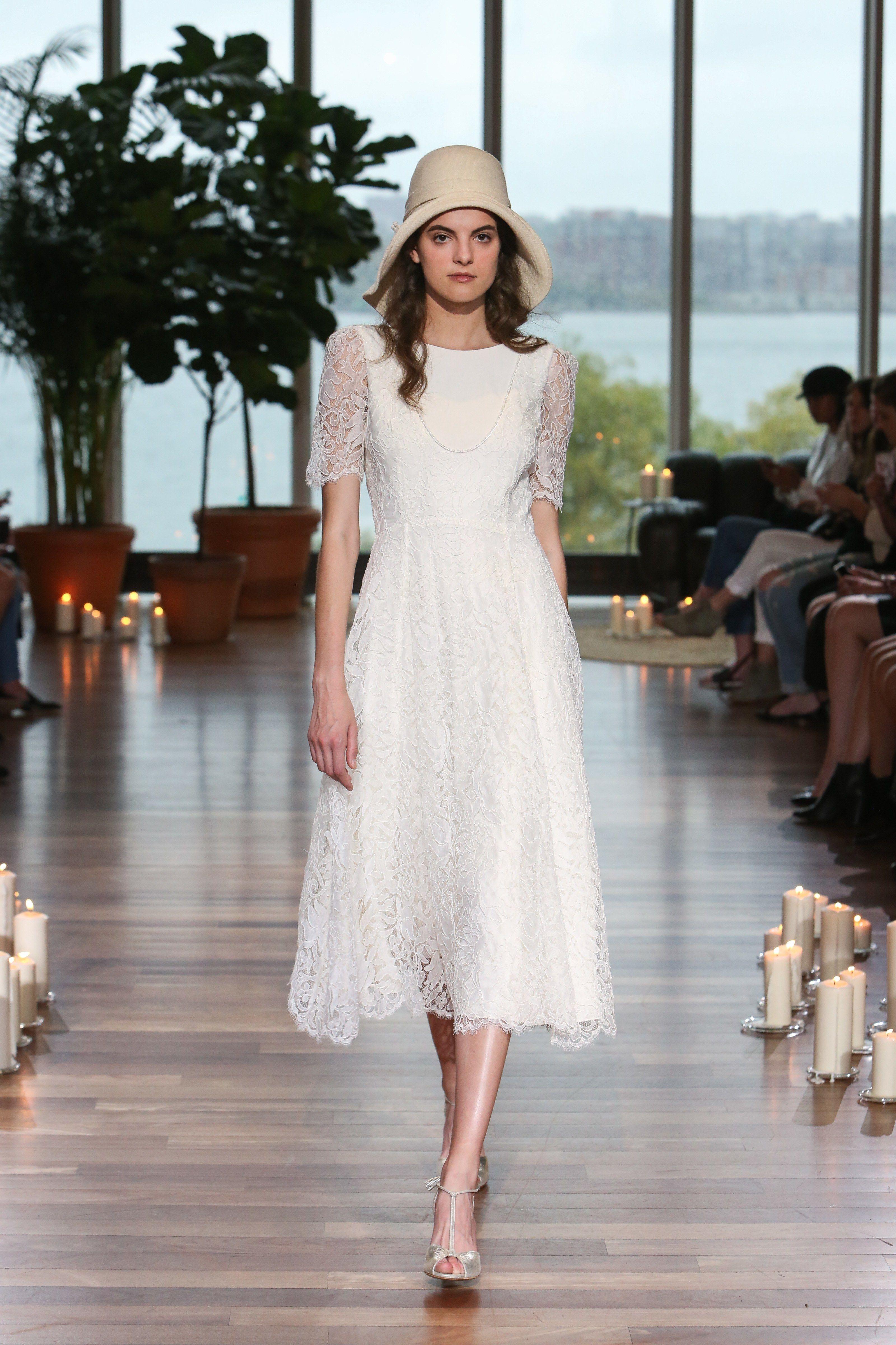 Tea Length Wedding Dress Trends 2018