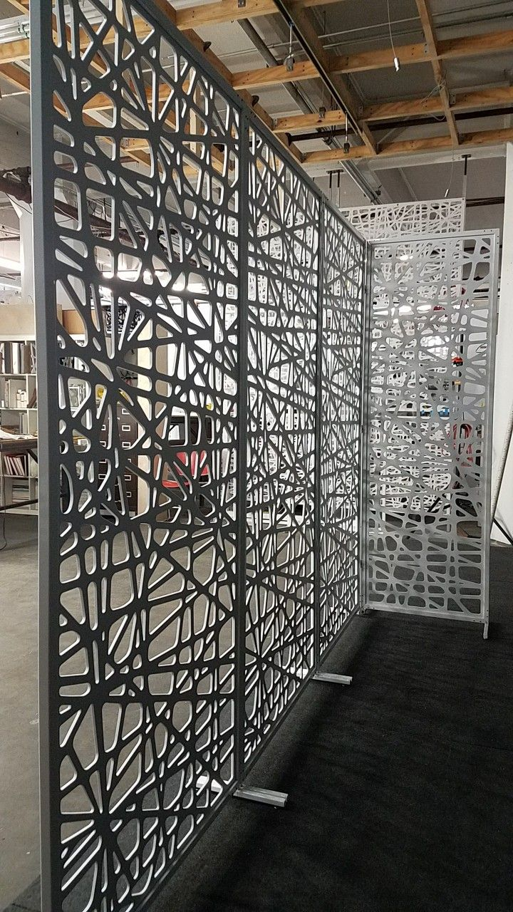 decorative screen room dividers single layer PVC panel screen