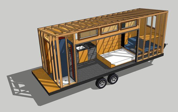 build your own tiny house with sketchup | * s.t.o.w. ώ designing