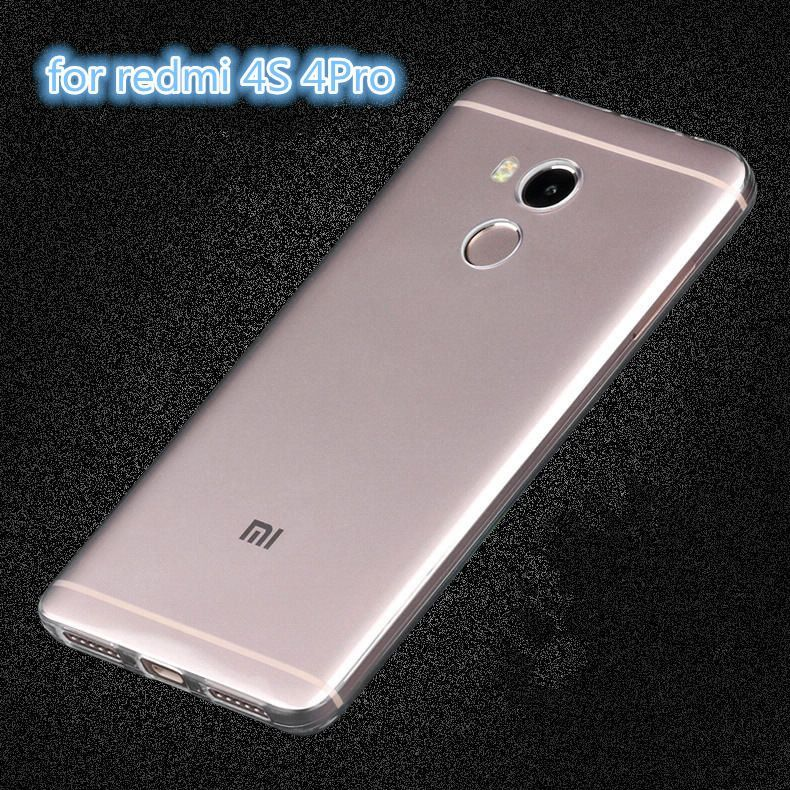 Hot Sale For Xiaomi redmi 4 4A 4S 4Pro 3 3S 3Pro 3X Hongmi 4 Soft Transparent TPU Gel Cover Case Skin Phone Case Capa Para