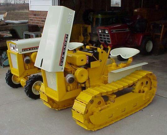 4x4 Cub Cadet Garden Tractors : Crawler and garden yard pinterest tractor