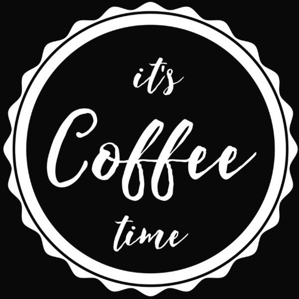 It's Coffee Time Art Print ($19) ❤ liked on Polyvore featuring home, home decor and wall art