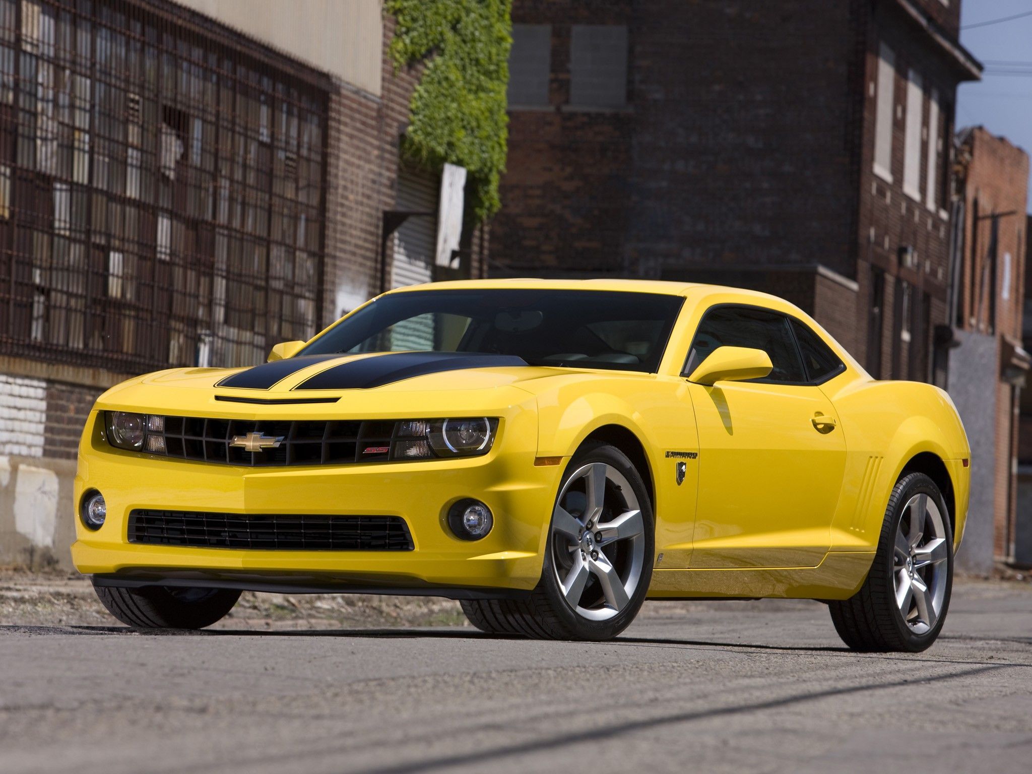 chevycamaroyellow
