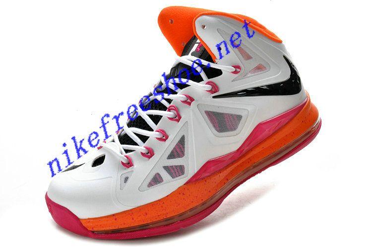 the latest 565d3 3cf28 Lebron 10 White Miami Floridians 541100 108   Lebron 10   Nike lebron, Ysl  sandals, Lebron shoes for sale