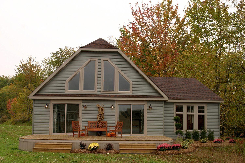 New Era Building Systems Modular Cape Cod Home In Pa