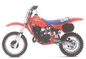 1983 Honda Cr60 Yes Honda Made A 60cc Race Bike Classic Honda Motorcycles Vintage Motocross Racing Bikes