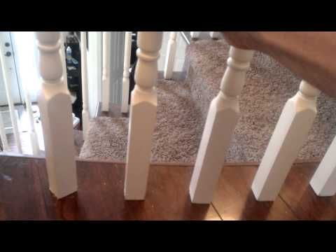 Best How To Fix A Loose Banister Or Handrail Youtube 400 x 300