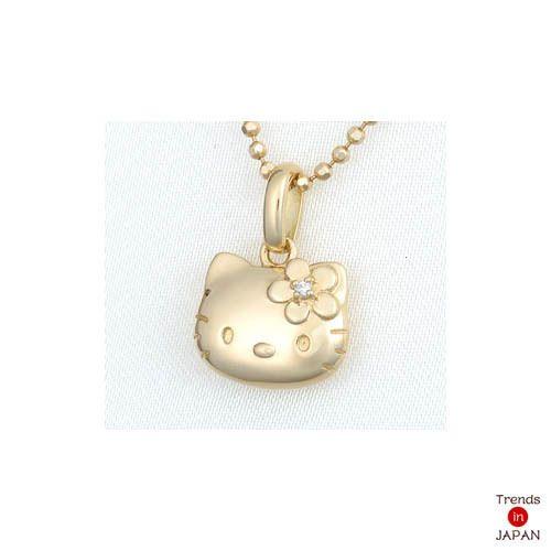 Rare sanrio gold hello kitty pendant i sooooolove hello rare sanrio gold hello kitty pendant mozeypictures Gallery