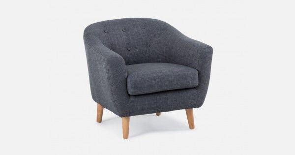 TULLSTA Armchair Nordvalla medium gray   Ikea armchair