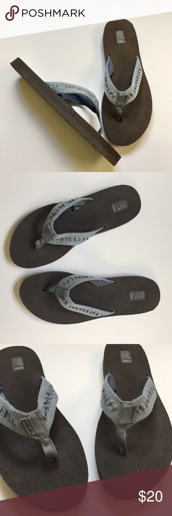 1377a228ba1e33 NEW TEVA Original Mush Flip Slop Sandal Comfort New without tags. Yoga mat  like comfort