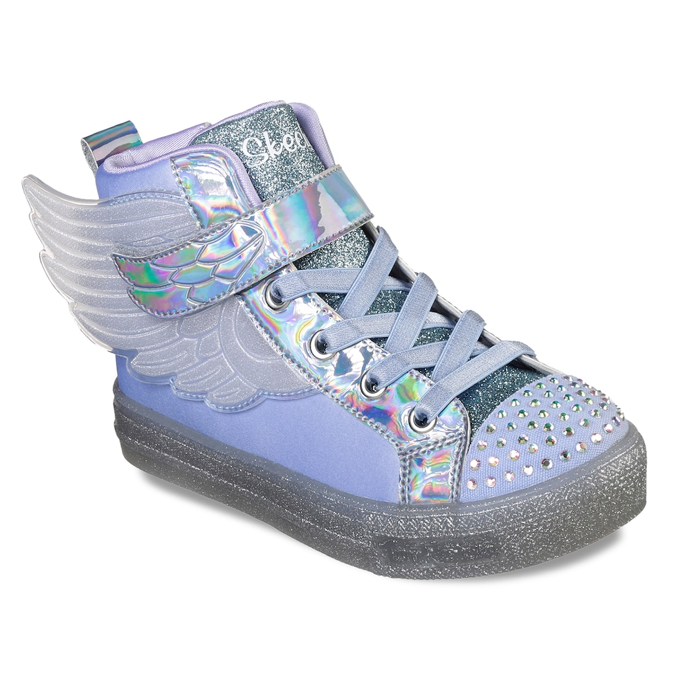 c9a8693ee2ec3 Skechers Twinkle Toes Shuffle Brights Sparkle Wings Girls' Light Up ...