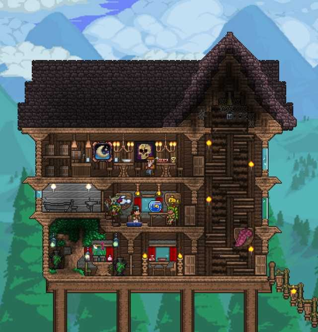 Don T Talk To Me My Son My Pets My Other Son In Disguise My Mount Or My Cannon Ever Again Terraria House Design Terraria House Ideas Terrarium Base