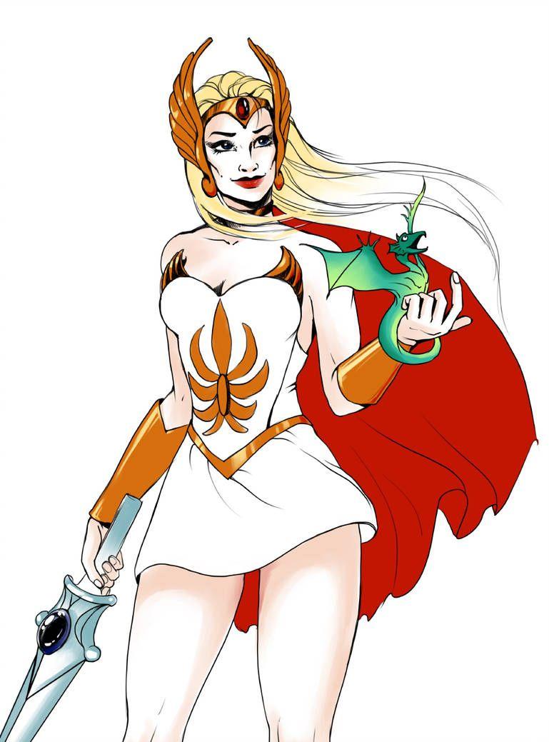 She-Ra, Princess of Power! by KirstyCarter on DeviantArt