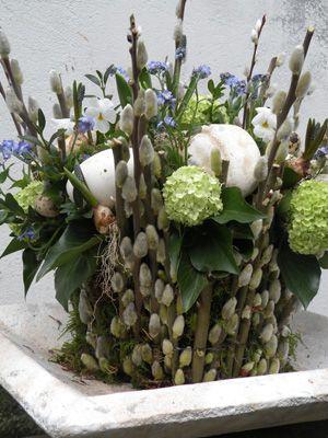 Uit Eigen Tuin Ii Landelijke Bloemstukken Lentebloemen Paaseieren Versieren