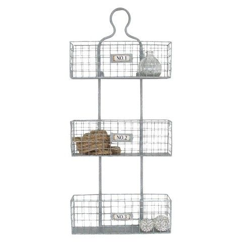 Numbered Metal Wall Basket Silver Baskets On Wall Metal Wall Basket Wall Basket Storage