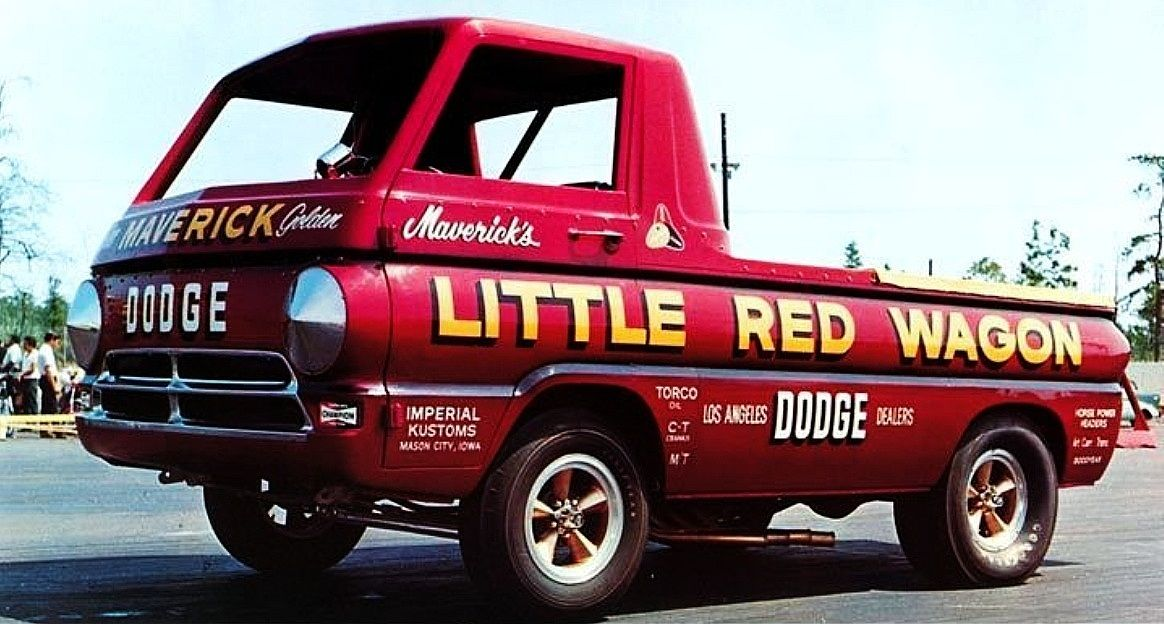 The Little Red Wagon Went Through More Changes In Its Career