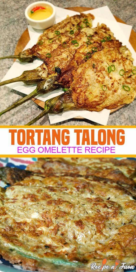 Filipino Eggplant Omelette Tartang Talong Recipe Easy Filipino Recipes Recipes Vegetable Recipes