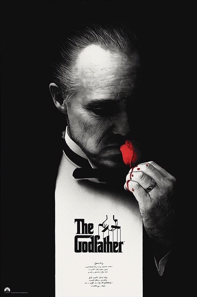 The Godfather 1972 1088 X 1640 Movieposterporn The Godfather Poster The Godfather Wallpaper The Godfather