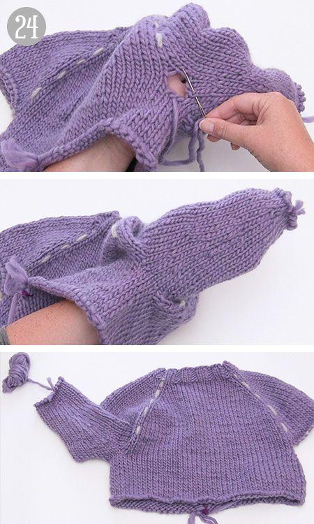 Photo of Wie man einen Pullover von oben nach unten (top down) strickt – DROPS Lektionen / Strickkurs