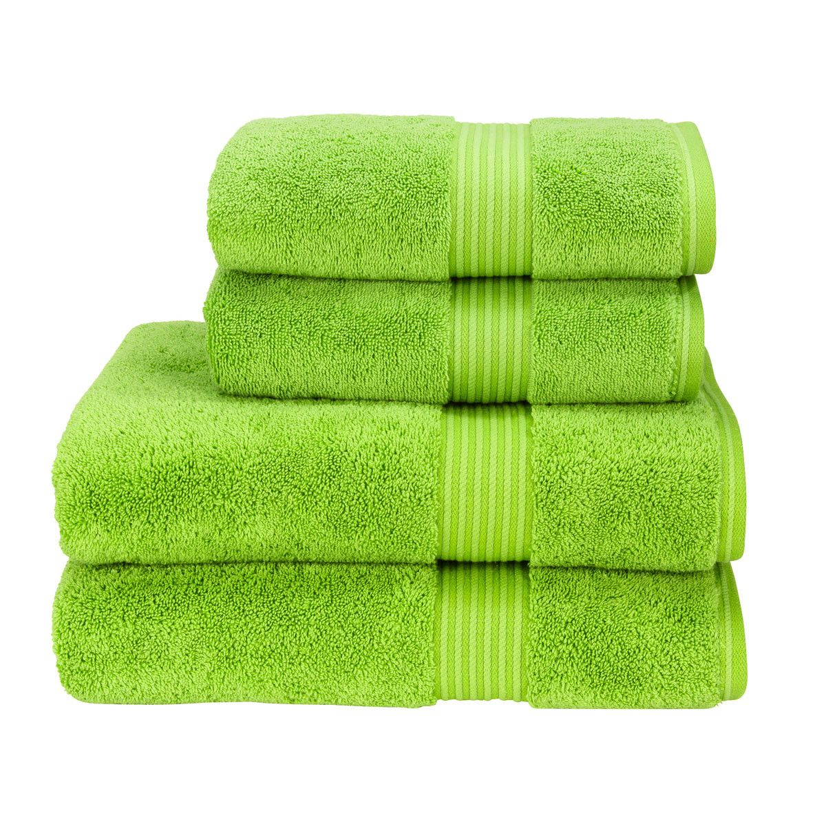 BRIGHT LEMON YELLOW 550GSM 100/% EGYPTIAN COTTON CHOICE OF 3 SIZE TOWEL BALE SETS