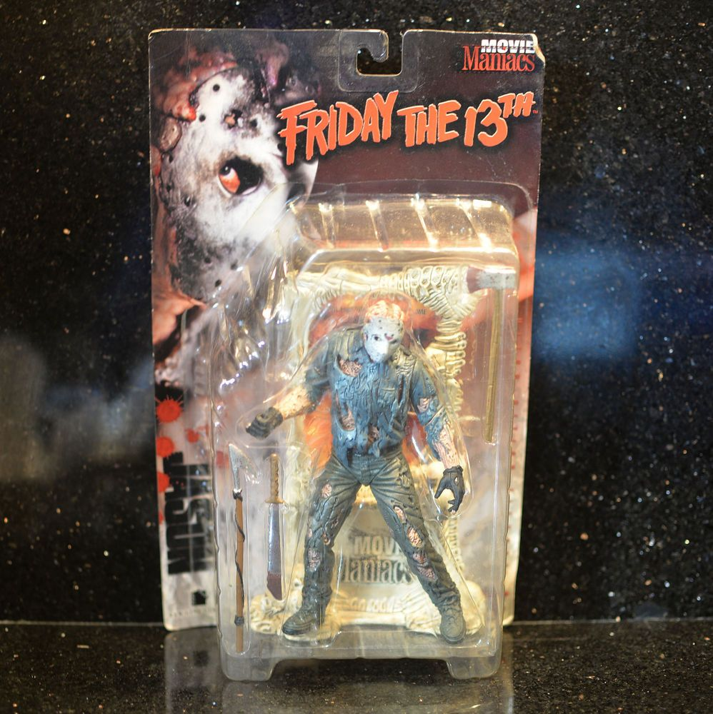 Mcfarlane Toys Jason Voorhees Friday The 13th Movie Maniacs Action Figure Toys Hobbies Action Figures T Mcfarlane Toys Action Figures Action Figures Toys