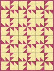 Accuquilt chisel quilt 4 http://b-quilts.com/blog/?p=2400