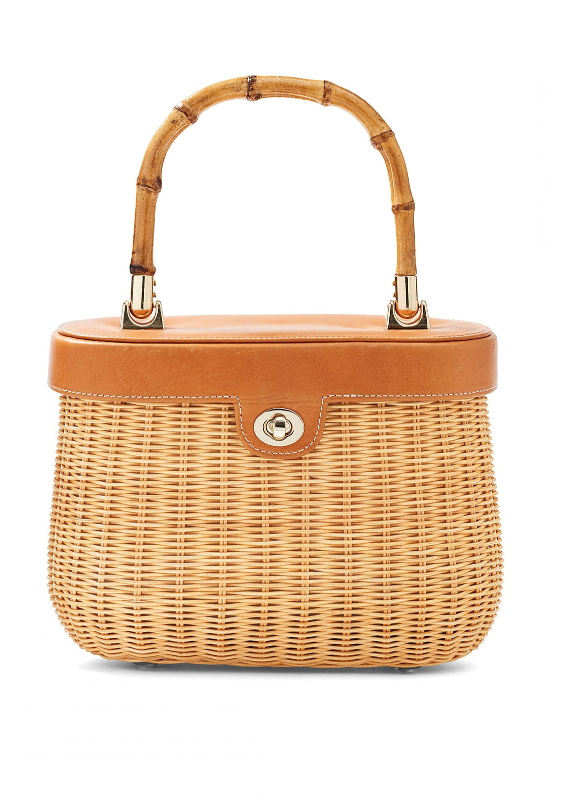 94e2e03eac343 Natural Ava Bamboo Handle Wicker Satchel - Women s New Arrivals ...